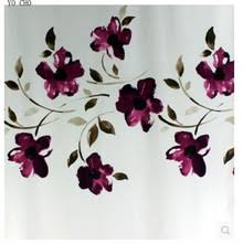 Orchid Shower Curtain Popular Purple Shower Curtains Buy Cheap Purple Shower Curtains