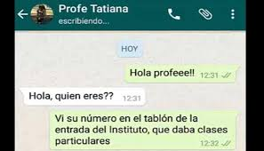hola imagenes whatsapp whatsapp he tried to fall in love with his teacher and she answered