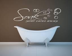 bathroom admirable bathroom wall art with nice stickers design