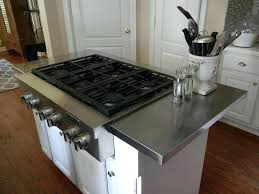 kitchen islands with stainless steel tops stainless steel island top wheelsofhopewv com