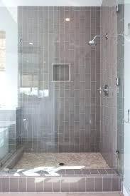 Subway Tile In Bathroom Ideas Grey Subway Tile Shower Captivating Grey Subway Tile Bathroom And