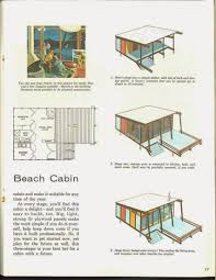 beach cabin plans 3 stage beach cabin 1960 guest house ideas pinterest cabin
