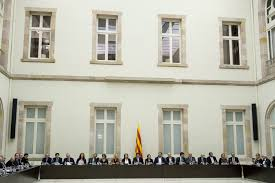 catalan separatists gather prepare independence vote the local