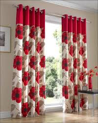 Red Kitchen Curtains And Valances by Kitchen Red Kitchen Curtains And Valances Green Floral Curtains