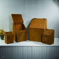 wooden kitchen canister sets vintage wooden advertising canisters kitchen canister sets