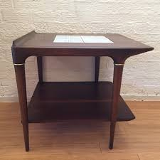 Ceramic Side Table Mid Century Accent Table Ceramic Tile By Lane C 1962 Epoch