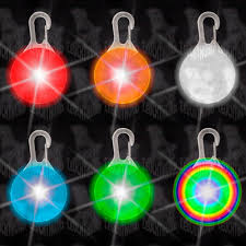 Esszimmerst Le Gemischt Hunde Leuchtanhänger Leuchthalsband Led Hundehalsband Lh6 Blinkie