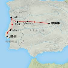 Portugal World Map by Portugal Tours And Holidays On The Go Tours