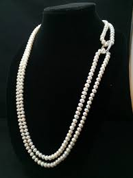 long necklace pearl images Long pearl necklace genuine pearl necklace 60 inches aa pearl jpg
