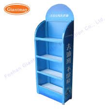 merchandise display case 4 tiers multipurpose liquid detergent heavy duty merchandise