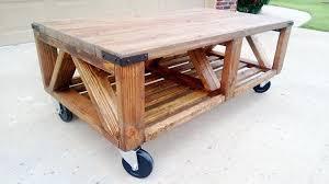 Rustic Coffee Table On Wheels Fancy Rustic Coffee Table On Wheels Coffee Table Rustic Coffee