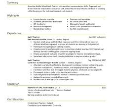 Student Teaching Resume Examples resume sample for teacher summer teacher resume sample example