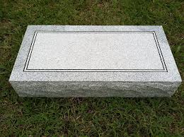 cheap gravestones granite headstone 24 x12 x4 plain other products