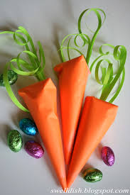 the swell dish easter egg filled paper carrots