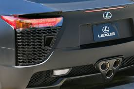 lexus lfa 2017 sound sounds good cars with the best exhaust notes