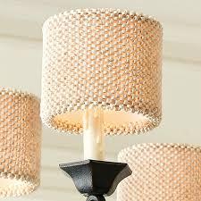 bead chandelier coco bead chandelier shade ballard designs