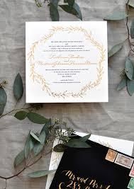 wedding invitations gold and white black white and gold foil destination wedding invitations