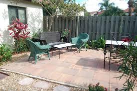 dog friendly backyard stone rocks back patio pinterest