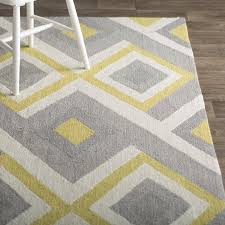 Yellow And Grey Outdoor Rug Impressive Bedroom Awesome Yellow And Grey Area Rug Cievi Home In