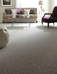 Carpet Ideas For Living Room by Vine Patterned Carpet Neutral Flooring Living Room Ideas