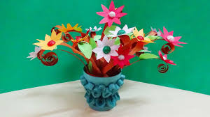 paper quilling flower vase how to make 3d quilling