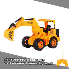 567toys 567 5 1 18 5ch rc excavator engineering truck rc car