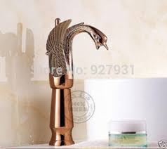 Swan Bathroom Faucet Discount Gold Swan Bathroom Faucets 2017 Gold Swan Bathroom