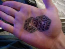 trend tattoos dice tattoos