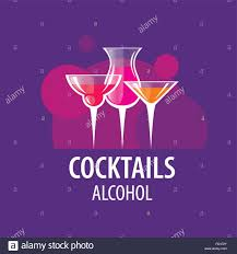 bacardi logo vector alcoholic cocktails logo stock vector art u0026 illustration vector