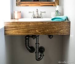 Diy Vanity Top Diy Vanity Shelf Floating Shelf Vanity Gray Ideas About Floating