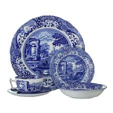 spode blue italian dinner set 20pc best price spode