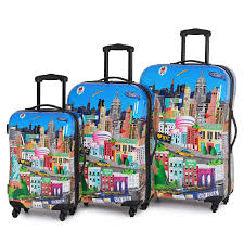 New York travel suitcase images New york printed suitcase enjoy your holidays knowing that your jpg