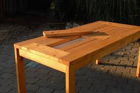 Plans For Wood Patio Table by Patio Table With Built In Beer Wine Coolers