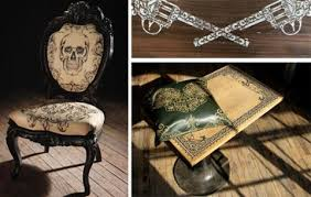 mama tried tattooed furniture highsnobiety