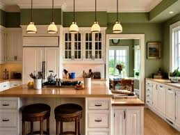 kitchen colors with off white cabinets light brown wooden kitchen