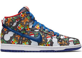 christmas sweater sb dunk high concepts christmas sweater 2017