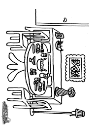 dining room at yourbedtimestorycom living room cartoon coloring