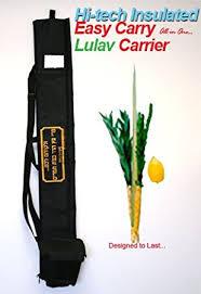 lulav holder hi tech insulated easy carry lulav and esrog etrog