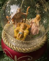 de carlini christmas glass ornament balsam hill