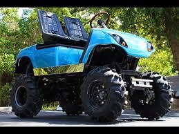 Golf Cart Off Road Tires Mud Golf Cart Youtube