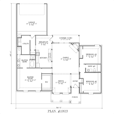 open kitchen house plans floor plan formal dining walkout square bungalow planner chalet