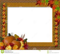 thanksgiving clip art borders free thanksgiving fall autumn border stock images image 10532884