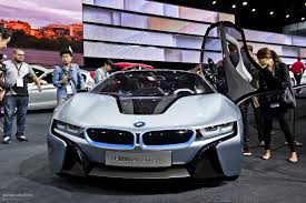 Bmw I8 Exhaust - bmw bringing i3 and i8 concepts to tokyo autoevolution