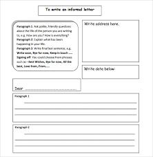 sample informal letter 7 documents in pdf word
