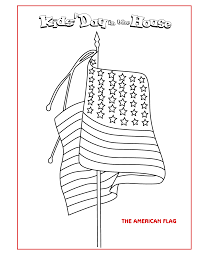 great us flag teacher printable worksheet coloring pages with