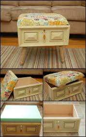 Diy Ottoman Coffee Table 15 Easy Diy Ottoman Ideas You Can Make On A Budget