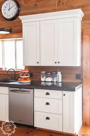 kitchen organization with pantry storage jars concrete