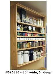 30 Wide Pantry Cabinet Spice Cabinets U0026 Racks Zipcabs Adjustable Racks U0026 Cabinets