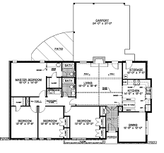 House Plans One Story Adhome Single Story Tudor House Plans