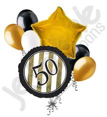 50th birthday balloon bouquets black gold 50th birthday balloon bouquet jeckaroonie balloons